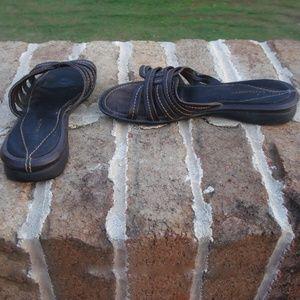 Liz Claiborne Leather Sandals  -Size 7.5m